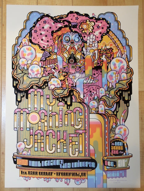 2017 My Morning Jacket - Broomfield III Silkscreen Concert Poster by Guy Burwell