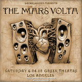 2005 The Mars Volta - Los Angeles Concert Poster by Emek