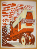 1998 Pearl Jam - Montreal/Toronto Silkscreen Concert Poster by Ames