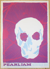 2003 Pearl Jam - Dallas Silkscreen Concert Poster by Ames AP
