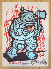 2003 Pearl Jam - Kansas City Silkscreen Concert Poster by Ames AP