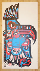 2005 Pearl Jam - Vancouver Silkscreen Concert Poster by Ames AP