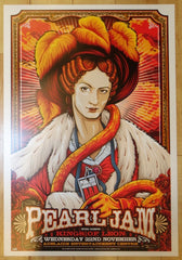 2006 Pearl Jam - Adelaide II Concert Poster by Ken Taylor