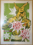2006 Pearl Jam - Melbourne II Concert Poster by Rhys Cooper