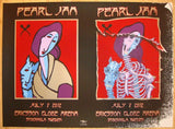 2012 Pearl Jam - Stockholm Concert Poster by Emek & Mouse