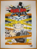2013 Pearl Jam - London, ON Silkscreen Concert Poster by D*Face
