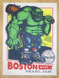 2016 Pearl Jam - Boston I Silkscreen Concert Poster by Ames AP