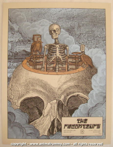 2008 The Raconteurs - Boston Concert Poster by Rob Jones