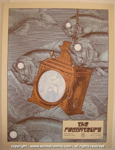 2008 The Raconteurs - Portland II Concert Poster by Rob Jones