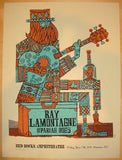2011 Ray Lamontagne - Red Rocks Concert Poster by Methane