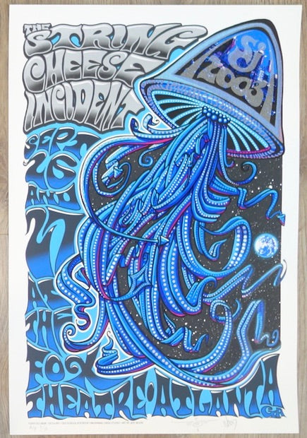 2003 String Cheese Incident - Atlanta Silkscreen Concert Poster by Jeff Wood