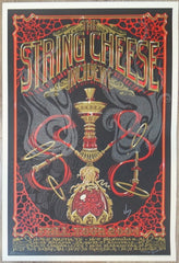 2004 String Cheese Incident - Fall Tour Silkscreen Concert Poster by Jeff Wood