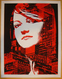 2003 The White Stripes - NYC II Concert Poster by Rob Jones