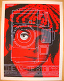2007 The White Stripes - Seattle I Concert Poster by Rob Jones