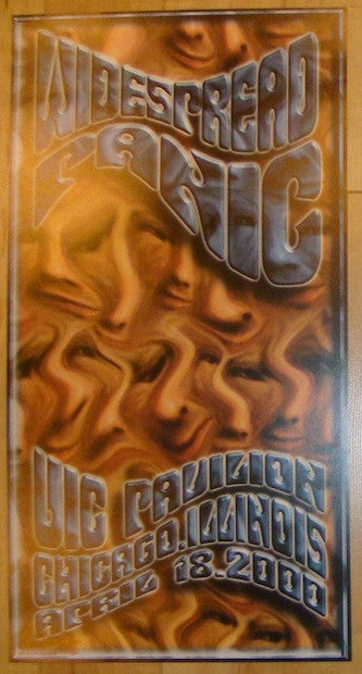2000 Widespread Panic - Chicago Concert Poster by JT Lucchesi