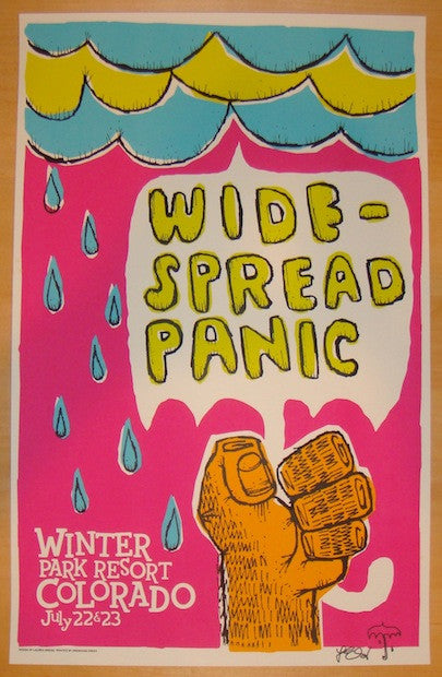 2006 Widespread Panic - Winter Park Concert Poster by Gregg