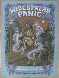 2008 Widespread Panic - Charleston AE Silkscreen Concert Poster by Marq Spusta