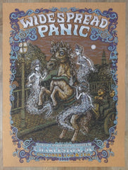 2008 Widespread Panic - Charleston Rust Variant Concert Poster by Marq Spusta