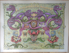 2009 Widespread Panic - Oakland Silver Variant Concert Poster by Marq Spusta