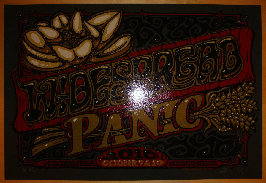 2010 Widespread Panic - Milwaukee Concert Poster by Jeff Wood