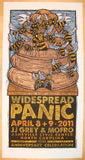 2011 Widespread Panic - Asheville Concert Poster by Gary Houston