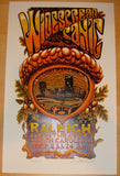 2011 Widespread Panic - Raleigh Concert Poster by AJ Masthay