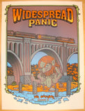 2011 Widespread Panic - Richmond Concert Poster by Matt Leunig