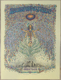 2014 Widespread Panic - Los Angeles AE Silkscreen Concert Poster by Marq Spusta