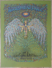 2014 Widespread Panic - Los Angeles Green Variant Concert Poster by Marq Spusta