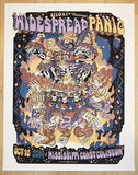 2014 Widespread Panic - Biloxi Concert Poster by Guy Burwell