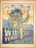 2015 Widespread Panic - KC Silkscreen Concert Poster by Jim Mazza