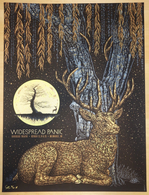 2015 Widespread Panic - Milwaukee Silkscreen Concert Poster by Todd Slater