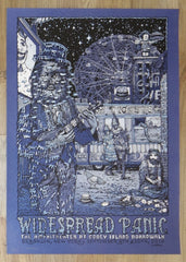 2016 Widespread Panic - Brooklyn Variant Concert Poster by David Welker