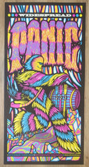 2016 Widespread Panic - Milwaukee II Silkscreen Concert Poster by Brad Klausen