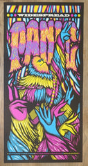 2016 Widespread Panic - Milwaukee III Silkscreen Concert Poster by Brad Klausen