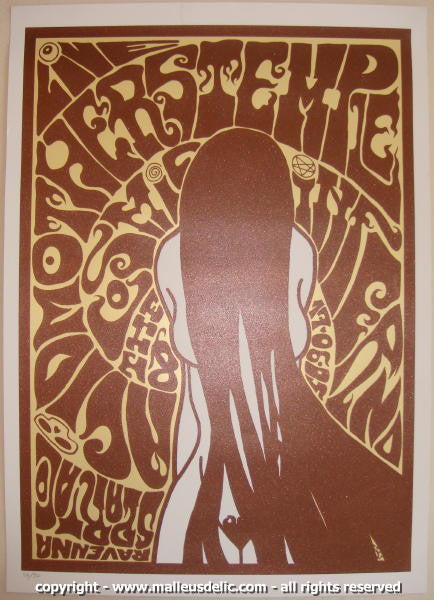 2005 Acid Mothers Temple Silkscreen Concert Poster by Malleus