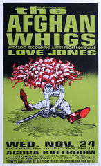 1993 Afghan Whigs (93-02) Concert Poster by Derek Hess