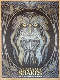 2016 Alabama Shakes - Taos Variant Silkscreen Concert Poster by Todd Slater