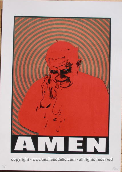 "2007 ""Amen"" - Yo! What Ever Happend to Peace? Poster by Malleus"