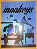 2014 Arctic Monkeys - Adelaide/Perth Poster by Tom Whalen