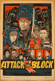 "2013 ""Attack The Block"" - Silkscreen Movie Poster by Tyler Stout"