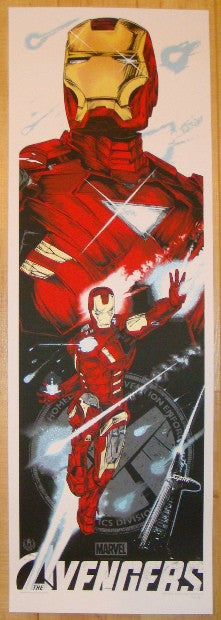 "2012 ""Avengers"" - Iron Man Movie Poster by Rhys Cooper"