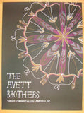 2012 Avett Brothers - Montreal Concert Poster by Kat Lamp