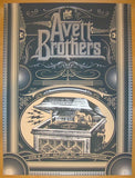2013 Avett Brothers - Gilford Concert Poster by Status Serigraph
