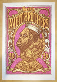 2014 Avett Brothers - Arcata Silkscreen Concert Poster by Mike King
