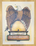 2014 Avett Brothers - Salt Lake City Concert Poster by Zeb Love