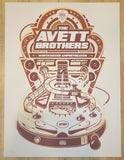 2015 The Avett Brothers - New Braunfels I Silkscreen Concert Poster by Arcamone