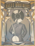 2015 The Avett Brothers - Tucson Silkscreen Concert Poster by Status
