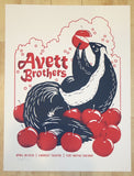 2016 The Avett Brothers - Fort Wayne Silkscreen Concert Poster by Furturtle