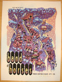 2011 Band of Horses - Portland Concert Poster by Guy Burwell